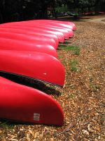 Stock - Red Canoes 3 by darlingstock