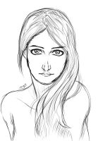RenataD portrait lineart by AtelierEdge