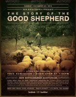 The Good Shepherd Church Flyer Template by loswl