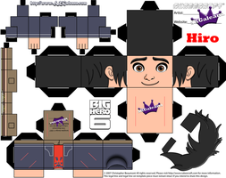 Hiro Big Hero 6 Cubeecraft by SKGaleana template by SKGaleana