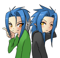 Twins::. ::Commission:: by XErrORX666