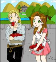 FMA Young Hoho and Trisha by rose123321123