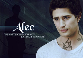 M.I. - Alec Lightwood by thechameleon21