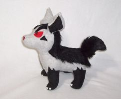Mightyena Plushie by RetroRodent