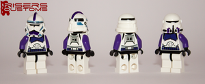 187th Legion Clone Troopers by Riser38