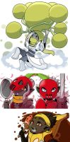 Fruit fighters 25 to 29 by drowtales
