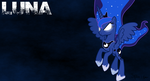 Luna Wallpaper (Birthday present) by nbunomad