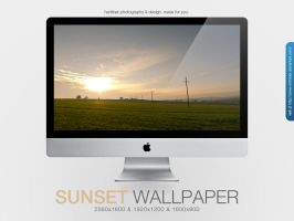 Sunset Wallpaper by MrFolder