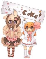 .:Cake Lovers Collab:. by Sweeneyluva