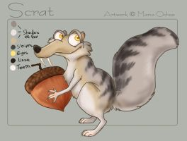 Ice Age - Scrat by agra19