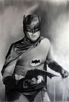 Batman Adam West by donchild