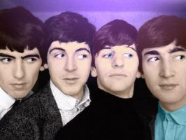 COLORFUL BEATLES by lanilioness