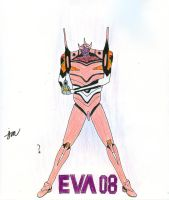 Evangelion Unit 08 by Tom-the-Foxey