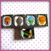 Wizard Of Oz Necklaces by SugarAndSpiceDIY