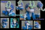 Amigurumi Suicune Puppy by JB-Pawstep