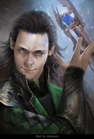 I bring you mischief - Loki by monikapalosz