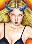 Darkchylde Sketch Card 1 by veripwolf
