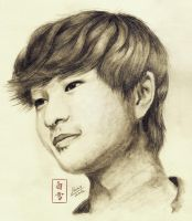 shining beauty onew. by byshirayuki