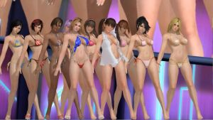 Dead or Alive 5 Ultimate Models for MMD by maniacoloco