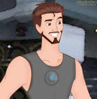 Tony Stark -version Disney Style!! by neniths