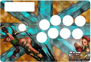 Cammy fightstick by MasterPouch