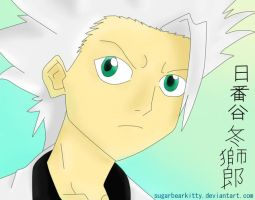 hitsugaya colored. by sugarbearkitty