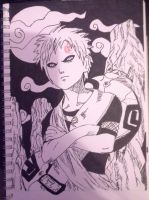 Gaara by animenyancat