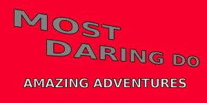 Most Daring Do: Amazing Adventures Title Screen by MasterYubel