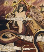 Lust of the Lamia by Flistan