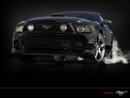 2014 Mustang GT by sfaber95