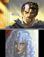 Guts Appears Before Griffith by ccs1989