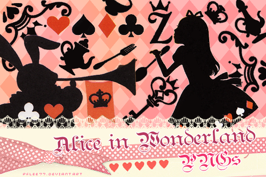 Alice in wonderland PNG by pflee77