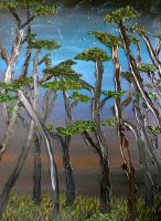 Cypress Trees by GarrettBrothers
