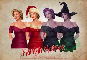 Marilyn Various Dress by MarcoGuaglione