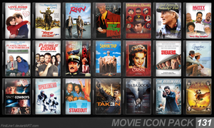 Movie Icon Pack 131 by FirstLine1