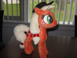Applejack plush by MaewynShadowtail