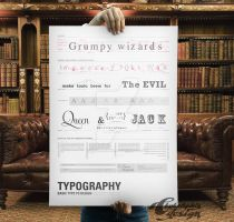 Typography Basic Poster by chykalophia