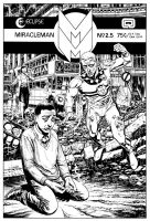Miracleman BW by westonfront