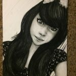 Portrait Request @8lackstar by cantalo-upes