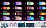 Palette Mystery Designs : 24 Hour Sale  [CLOSED] by Solar-Paragon