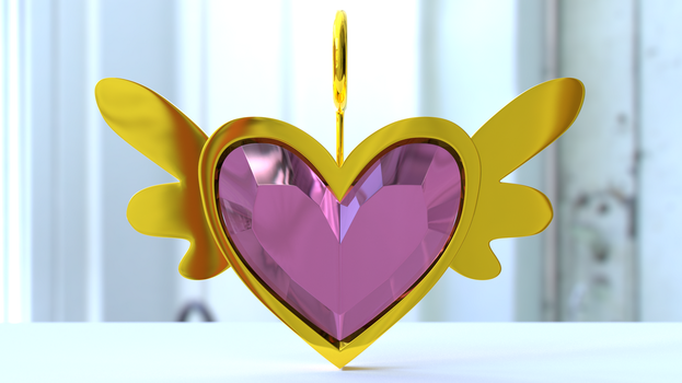 Equestian Pink Heart by gabe2252