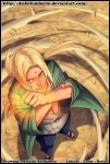 Tsunade - The will of fire - by diabolumberto