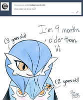 Ask 10 - Who's Older? by BlueMan282