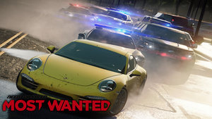 NFS Most Wanted by michaels750