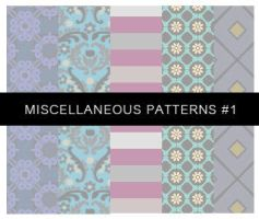 Miscellaneous Patterns No.1 by Annelyh