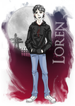 Legacy of Ghosts: Loren by pandora-6666