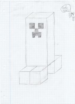 Creeper doodle by TheIflame