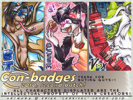 Badges 2010 2nd round by carnival