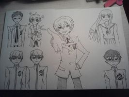 Ouran High School Host Club (work in process) by Animefan67