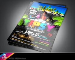 Tipsy Saturdays flyer 3 by AnotherBcreation